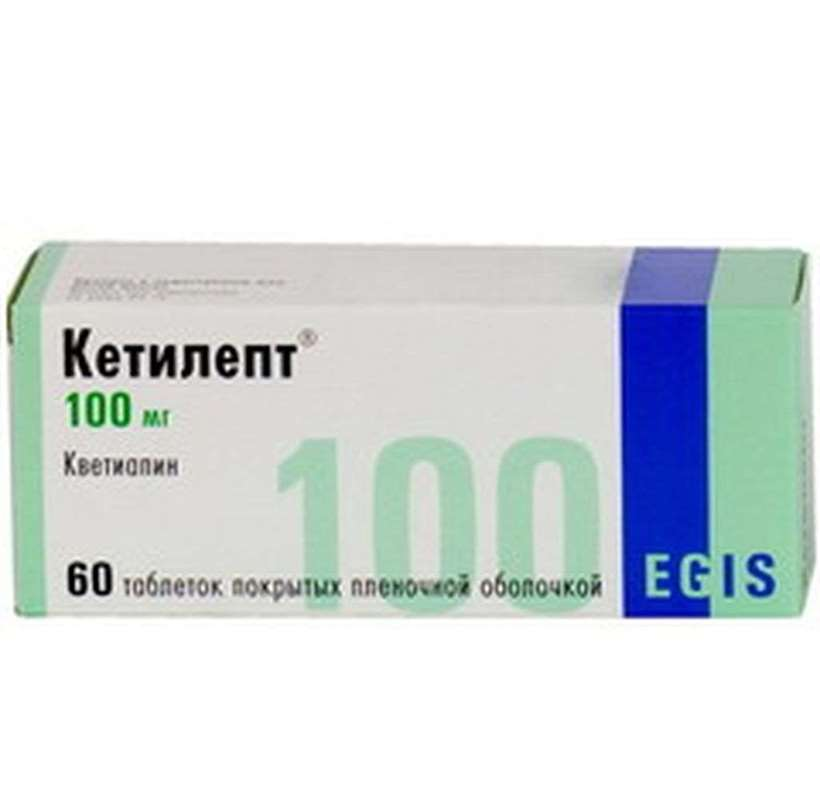 Ketilept 100mg 60 pills buy antipsychotic effects online Quetiapinum, Quetiapine