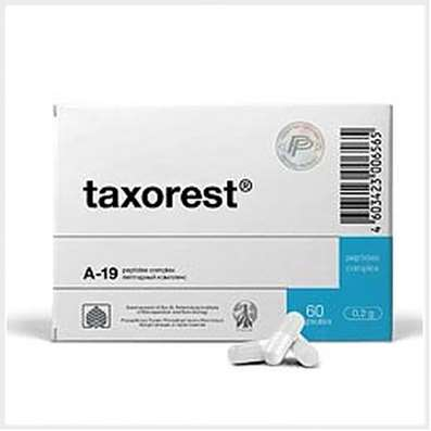 Taxorest 60 capsules peptide, effective prevention and relief of all types of bronchitis and asthma
