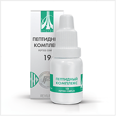 Peptide complex 19 10ml for best prevention of migraine, depending on the weather